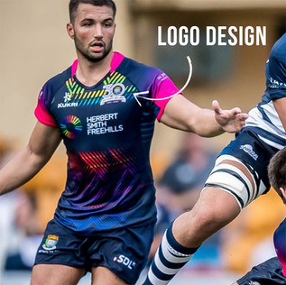 Sandy Bay Rugby Club commissioned a new logo to commemorate their 30th anniversary. They were very happy with the design.