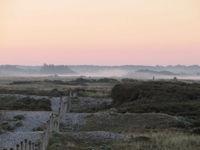 la réserve naturelle du hâble d'Ault au sud de la Baie de Somme