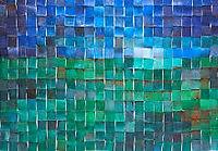 Création artistique à partir de déchets plastiques de l'artiste contemporain  et coloriste Sophie Helene à Cayeux-sur-Mer