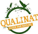 Logo Qualinat assurant la qualité d'une balade avec un guide nature