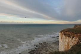 Artiste de l'éphémère, la Baie de Somme offre ses lumières, ses nuages et le ciel