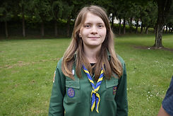 scout souriant