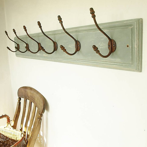 Vintage Country Wooden Coat Rack