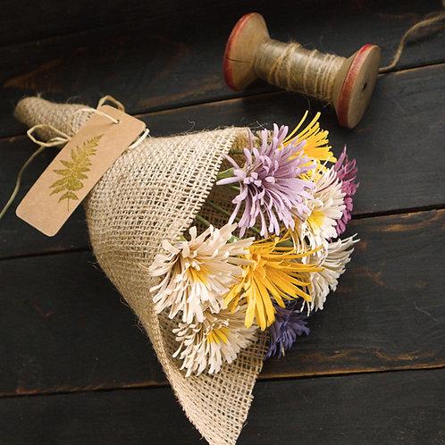 Handmade Wooden  Wild Flowers