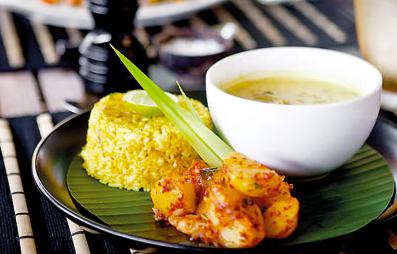 Tabula Rasa Resort - Restaurant