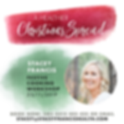 Festive Christmas Cooking Workshop with Stacey Francs