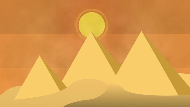 After Effects - Egypt Sketch