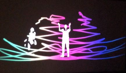 Kinect Drawing Experience -Installation