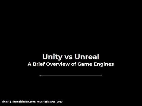 Game Engines: Unity vs UE4