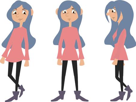 Illustrator - Character Design