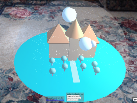 Experimentation with Web based Augmented Reality