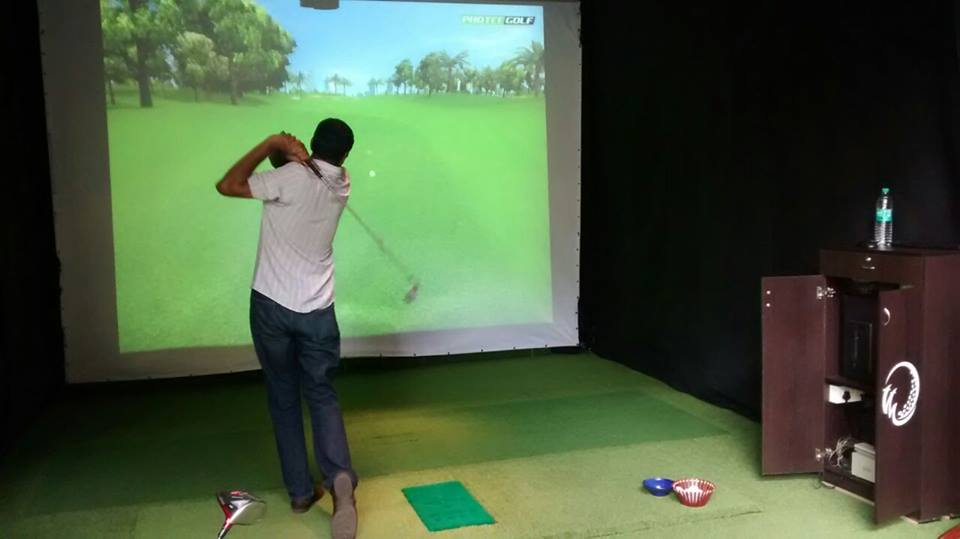 Golfer's Edge Bengaluru Indoor Golf