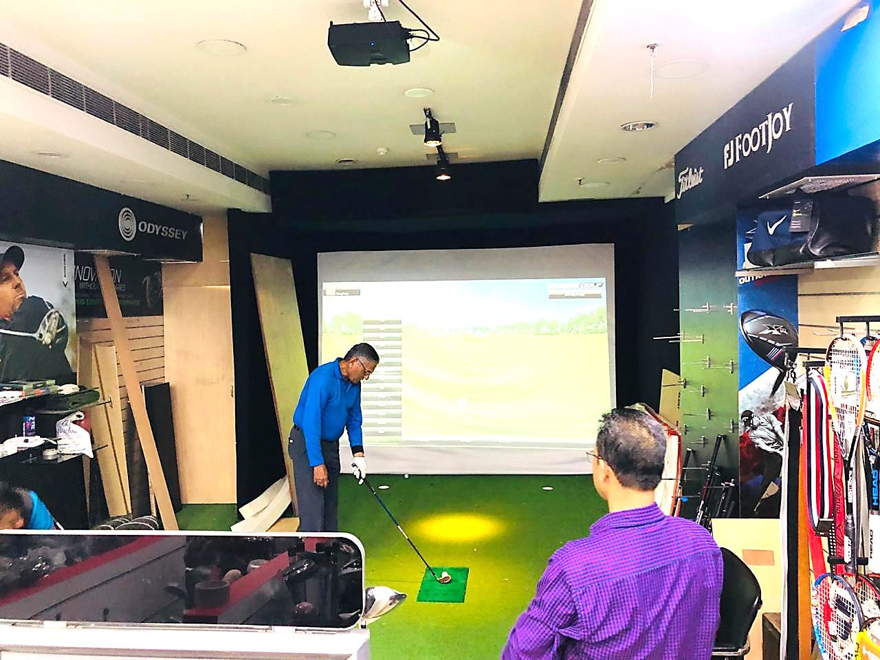 Golf Studio in Store 4