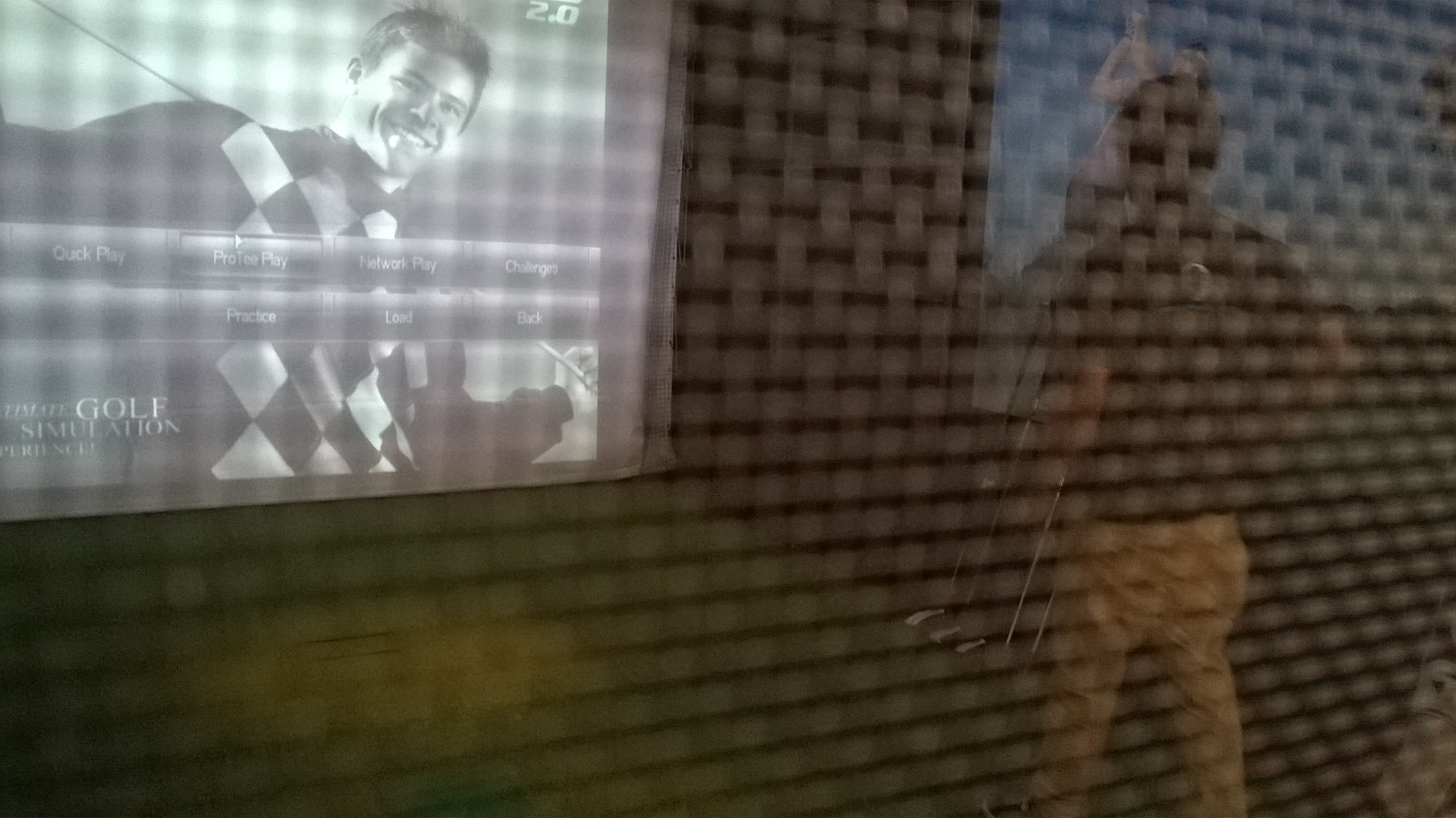 Indoor Golf Simulator KIAL