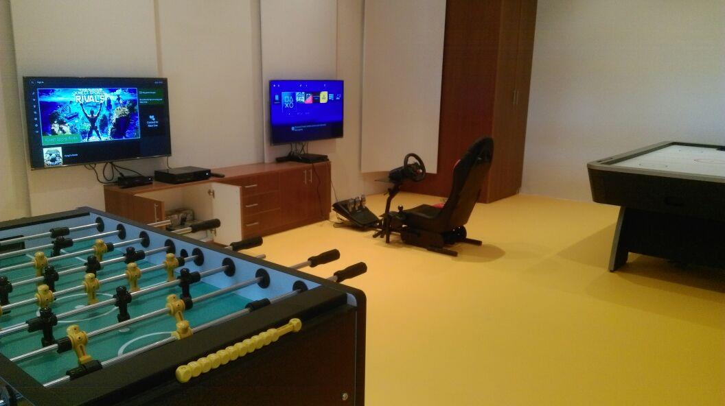 Gameroom India racing simulator