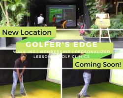Golfer's Edge New Location