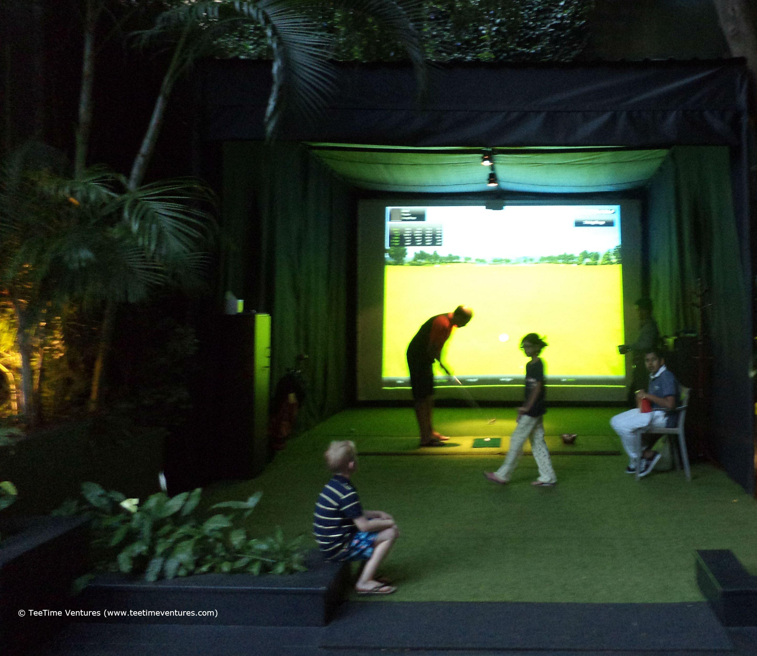 Leela Palace Golf At Night