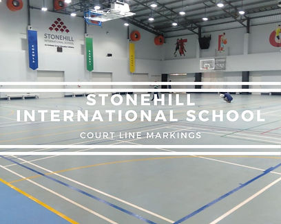 Stonehill International Line Markings.jp