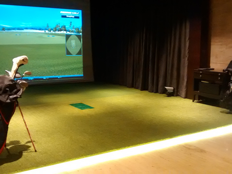 Indoor Golf in India?