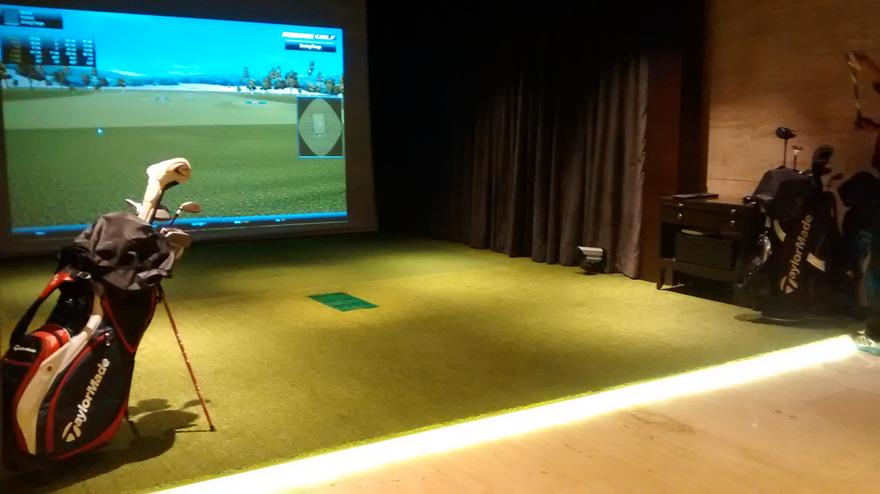 Golfer's Edge - Leela Hotel,  Gurgaon