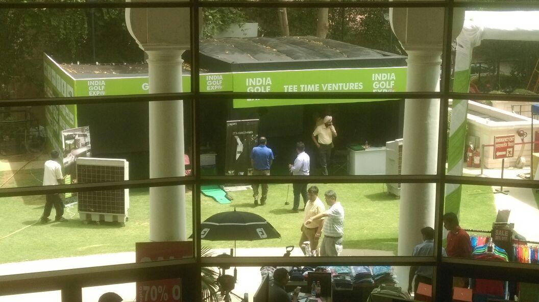 India Golf Expo Indoor Golf Simulator