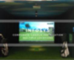 Indoor Golf Infosys Corporate Campus India