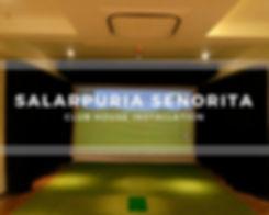 Virtual Golf Clubhouse Salarpuria Senorita India