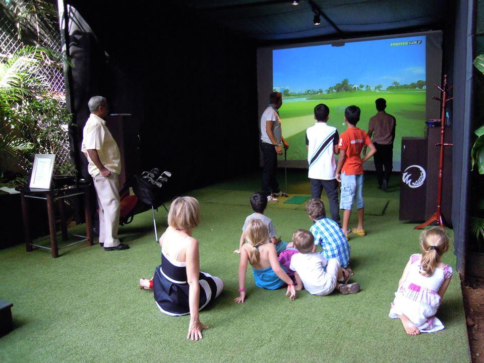Leela Palace Indoor Golfing