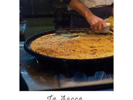 La Socca , spécialité régionale de Nice.