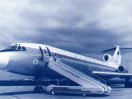29 Июля 1963 - состоялся первый полёт самолёта Ту-134.
