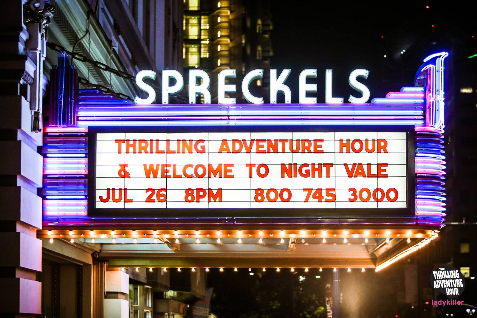 Spreckels Marquis: San Diego Comic-C
