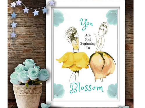 Blossom Downloadable Print