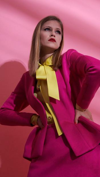 Kostüm rosa Neopren