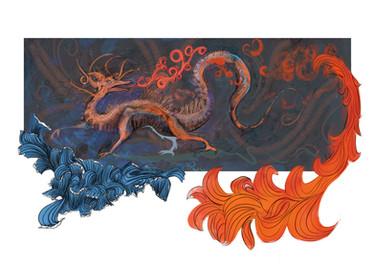Dragon celté