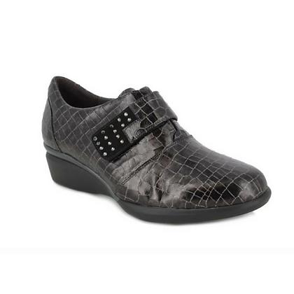 Zapato cocodrilo velcro