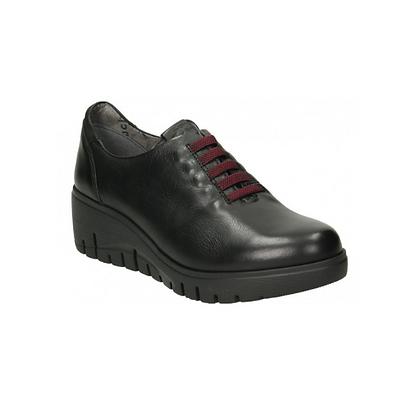 Zapato cordones negro