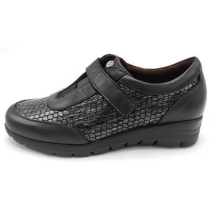 Zapato hexágonos negro