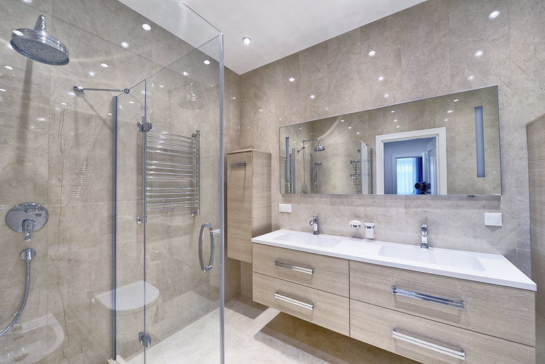 New luxury bathroom installation in North London