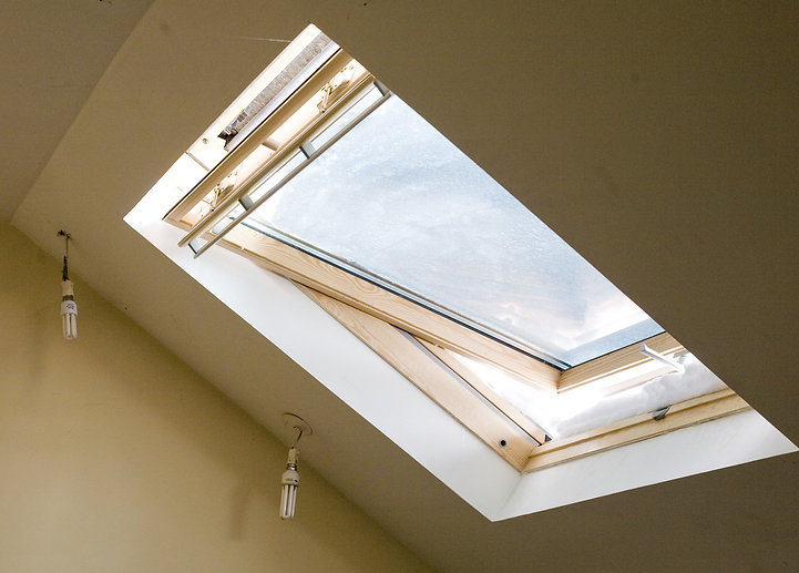 Velux window in north london home