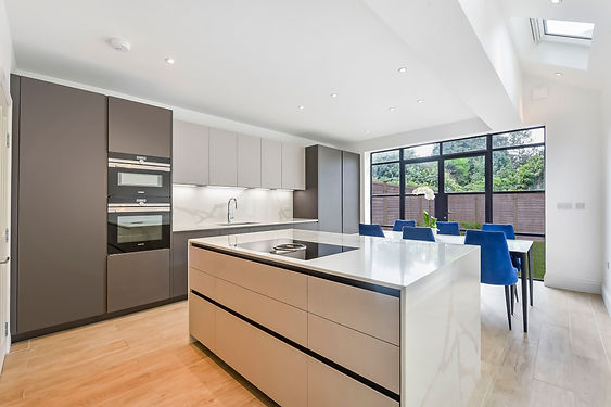 If you live in or around London, adding a kitchen extension gives you more room for preparing food and entertaining family and friends, while increasing the value of your property at the same time.