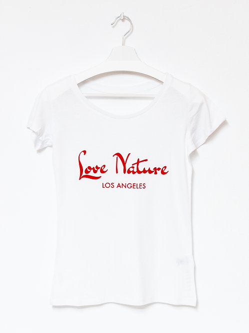 LOVE NATURE T-Shirt  WOMEN