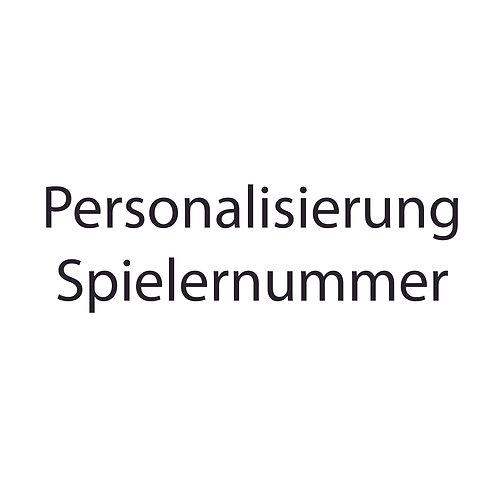 Personalisierung Spielernummer
