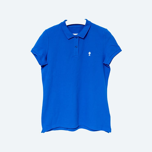 LOGO CHROME Special Edition 100% Biobaumwolle Poloshirt WOMEN