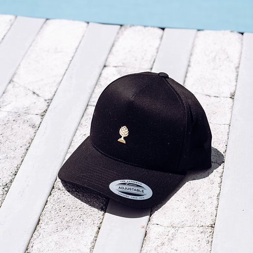 LOGO GOLD Special Edition Snapback Cap Curved