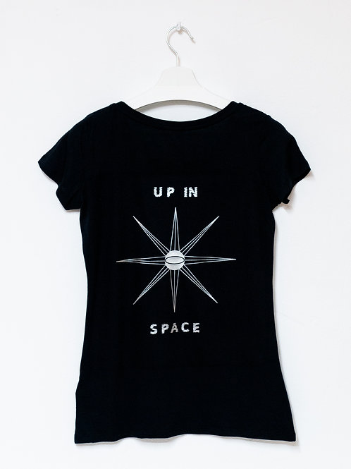 UP IN SPACE T-Shirt  WOMEN