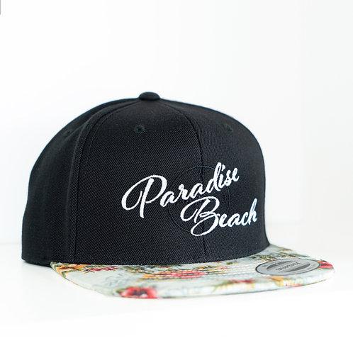 Paradise Beach Snapback Cap