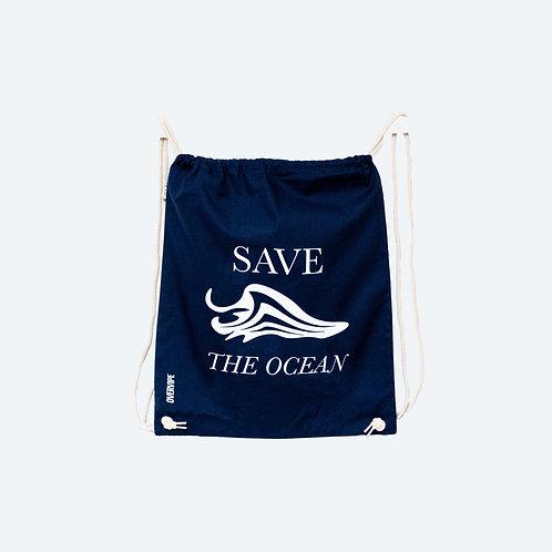 SAVE THE OCEAN 100% Biobaumwolle Beutel
