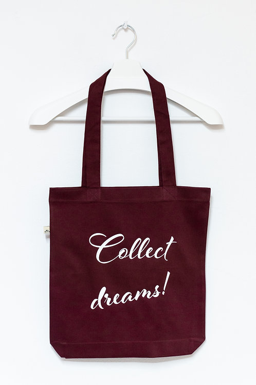 COLLECT DREAMS! 100% recycled Tasche