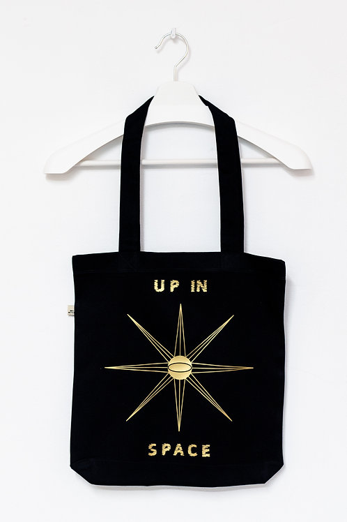 UP IN SPACE 100% recycled Tasche
