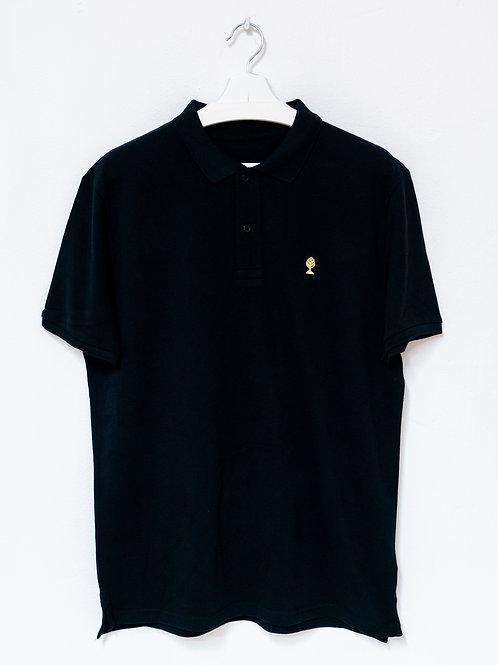 LOGO GOLD Special Edition 100% Biobaumwolle Poloshirt MEN
